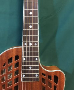 Reso-Rocket WB Custom with diamond inlay neck
